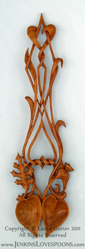 Welsh_Lovespoon_Double_Bowl_Yew_Valentine_Spoon