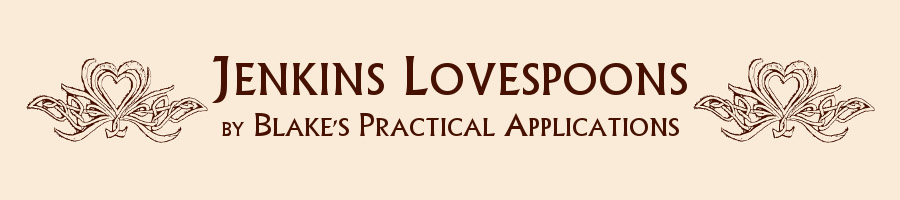 Jenkins Lovespoons by Blake's Practical Applications